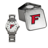 Ladies Stainless Steel Fashion Watch-F