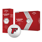 Callaway Chrome Soft Golf Balls 12/pkg-F