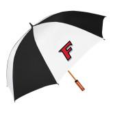 62 Inch Black/White Umbrella-F