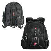 Wenger Swiss Army Mega Black Compu Backpack-F