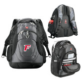 Wenger Swiss Army Tech Charcoal Compu Backpack-F