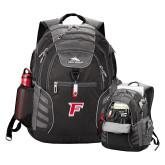 High Sierra Big Wig Black Compu Backpack-F