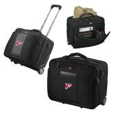 Wenger Transit Wheeled Black Compu Briefcase-F