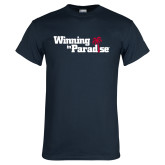 Navy T Shirt-Winning in Paradise