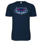 Next Level SoftStyle Navy T Shirt-Mascot