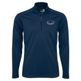 Syntrel Navy Interlock 1/4 Zip-Mascot