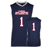 Replica Navy Adult Basketball Jersey-Jerseys