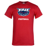 Red T Shirt-Football