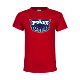 Youth Red T Shirt-Primary Mark