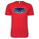 Next Level SoftStyle Red T Shirt-Mascot
