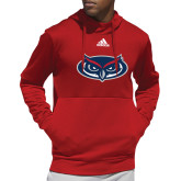 Adidas Red Team Issue Hoodie-Mascot