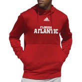 Adidas Red Team Issue Hoodie-Wordmark
