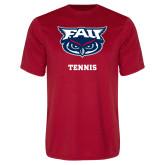 Performance Red Tee-Tennis