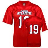 Replica Red Adult Football Jersey-Wordmark