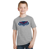 Youth Grey T Shirt-Mascot