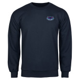 Navy Fleece Crew-Mascot