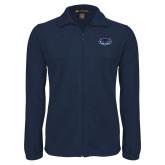 Fleece Full Zip Navy Jacket-Mascot