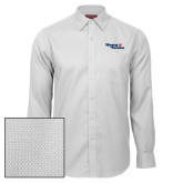 Red House White Diamond Dobby Long Sleeve Shirt-Winning in Paradise