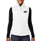 Columbia Lake 22 Ladies White Vest-Mascot