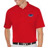 Callaway Opti Dri Red Chev Polo-Mascot