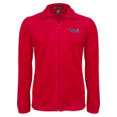 Fleece Full Zip Red Jacket-Winning in Paradise