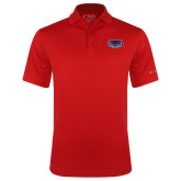 Columbia Red Omni Wick Drive Polo-Mascot