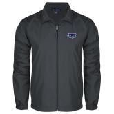 Full Zip Charcoal Wind Jacket-Mascot