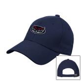Navy Heavyweight Twill Pro Style Hat-Mascot