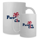 Full Color White Mug 15oz-Paradise Club