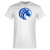 White T Shirt-Bronco