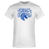 White T Shirt-Lady Broncos