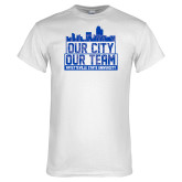 White T Shirt-Our City Our Team
