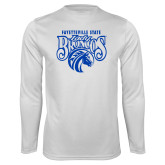 Syntrel Performance White Longsleeve Shirt-Lady Broncos