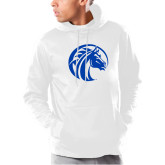 Under Armour White Armour Fleece Hoodie-Bronco