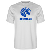 Syntrel Performance White Tee-Basketball