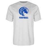 Syntrel Performance White Tee-Football
