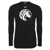 Under Armour Black Long Sleeve Tech Tee-Bronco