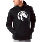 Under Armour Black Armour Fleece Hoodie-Bronco