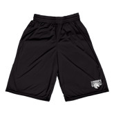 Performance Black 9 Inch Short w/Pockets-Official Logo