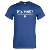 Royal T Shirt-Volleyball Design