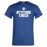 Royal T Shirt-Attitude Check