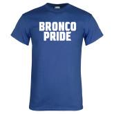 Royal T Shirt-Bronco Pride