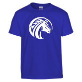 Youth Royal T Shirt-Bronco