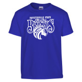 Youth Royal T Shirt-Lady Broncos