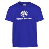 Youth Royal T Shirt-Womens Basketball