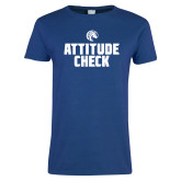 Ladies Royal T Shirt-Attitude Check