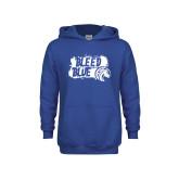 Youth Royal Fleece Hoodie-Bleed Blue