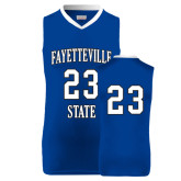 Replica Royal Adult Basketball Jersey-#23
