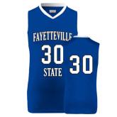 Replica Royal Adult Basketball Jersey-#30