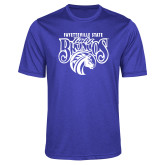 Performance Royal Heather Contender Tee-Lady Broncos